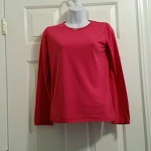 Sleepwear pink long sleeve 14/16